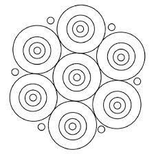 Resultado de imagen para como dibujar mandalas faciles