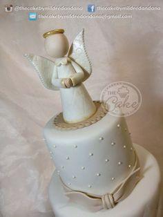 Angel. Christening cake / Torta de bautizo