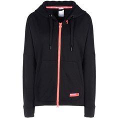 Adidas Stella Sport Sweatshirt ($77) ❤ liked on Polyvore featuring activewear, black, adidas sportswear, adidas, sports activewear, logo sportswear and adidas activewear