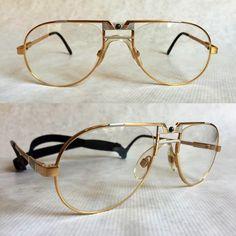 Vintage Golf Glasses made from German Titanium: Cazal 750
