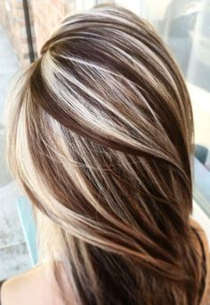 37 Cream Blonde Hair Color Ideas for This Spring 2019 - Wedding Hair - hair Cream Blonde Hair, Brown Blonde Hair, Light Brown Hair, Blonde Curls, Blonde Balayage, Blonde Ombre, High Lights Brown Hair, Blonde With Low Lights, High And Low Lights