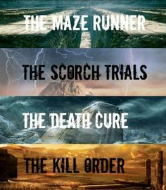 The Maze Runner series by James Dashner I really liked this series, a bit drawn out at times, but all in all, a wonderfully crafted world dealing with a terrible disease that preys on the mind, on sanity, and hundreds of young girls and boys that are pushed past their limits to try and find a way to survive