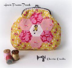 Charise Creates: Hexie Pouch - A little tute