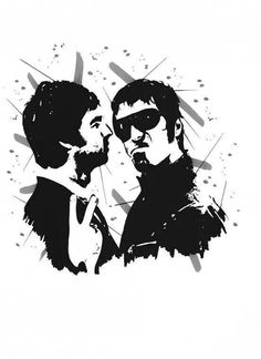 Oasis, Liam And Noel, Football Casuals, Noel Gallagher, Look Rock, King Of Music, Poster Ideas, Rock Stars, Pop Group