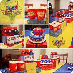 superhero birthday party ideas | ... . They have featured some awesome parties and have SO many fun ideas