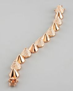Eddie Borgo rose gold bracelet Paint women smaller and their