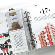 """Beth Moloney (@beth2408) on Instagram: """"Day 17... one of my favourite December Daily pages! I copied a layout by @babz510 for my wrapping…"""""""