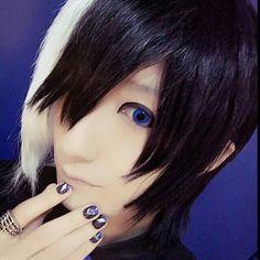 From Machigerita's Twitter Visual Kei, Vocaloid, Rock, Twitter, Pretty, Skirt, Locks, The Rock, Rock Music