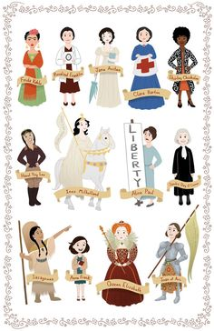 Twin Sister Animators Release New Women In History Poster... And It Rocks!