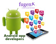 Android apps developers Delhi:Are you searching for Android app developers? Then FuGenX will help you. FuGenX  is the one of the best Android app development company Delhi. We are developing Android application using java programming language along with Android SDK. For more details you can reach us at fugenx.com. http://fugenx.com/services/android-application-development/