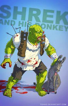 15 héros des dessins animés en mode badass et trash !