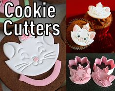 Aristocats Marie Cookie Cutters / Disney by BugHeartBaby on Etsy