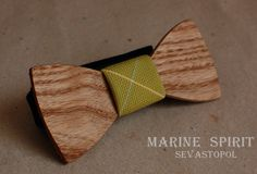 Wooden bow tie. Elpida  wood: Ash  material: cotton  size: 10*4,5  price: $35.00 USD  https://www.etsy.com/listing/155096489/wooden-bow-ties?ref=shop_home_active