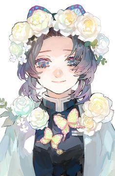 Anime Angel, Anime Demon, Chica Anime Manga, All Anime, Kawaii Anime, I Love Anime, Demon Slayer, Slayer Anime, Fanarts Anime