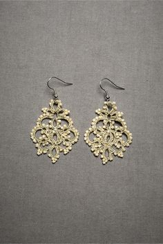 Queen Anne's Lace Earrings from BHLDN
