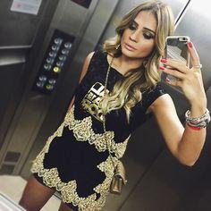 Mais uma de @skazioficial! E hoje o make é by Thassia Naves mesmo, aprovado?! emojiemoji️ #ootd #makeup #btviaja #thassiaemsalvador