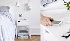 With the goal of making disappear the anaesthetic cables used to charge mobile devices – such as smartphones and tablets –, Ikea developed a new furniture collection that integrates wireless chargers. The collection Home Smart fo Bedroom Walls, Home Decor Bedroom, Teen Bedroom, Bedrooms, Ikea Bad, Table Led, Ikea Decor, Startup, Digital Trends