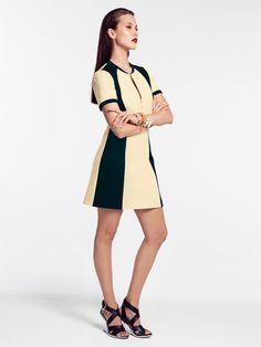 Zipper Neck Dress 07/2014 #113 – Sewing Patterns | BurdaStyle.com