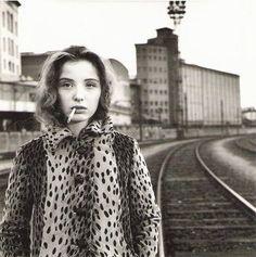 Julie Delpy by Stéphane Coutelle.Paris, november 1989