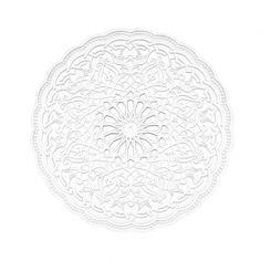 Moulay Medallion - My Moroccan Style Islamic Wall Decor, Islamic Art, Plaster Ceiling Rose, Gypsum Ceiling Design, Morrocan Decor, Ramadan Decorations, Ceiling Medallions, West London