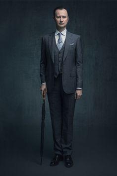 SHERLOCK (BBC) ~ Mark Gatiss S4 promo photo.