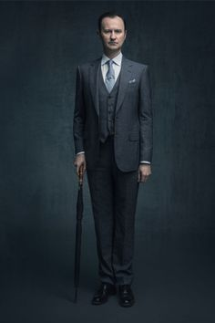 SHERLOCK (BBC) ~ Mark Gatiss S4 promo photo.