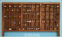 DIY earring holder tutorial - The Burlap Bag