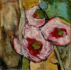 Angela Fusenig 1 Kunst Pflanzen: Blumen Diverse Pflanzen Gegenwartskunst