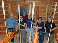Carve a Greenland-style kayak paddle. Workshops at The Canadian Canoe Museum in Peterborough, Ontario. Canadian Canoe, Peterborough Ontario, Kayak Paddle, Paddles, Kayaks, Wooden Boats, Boat Building, Water Sports, Lineup