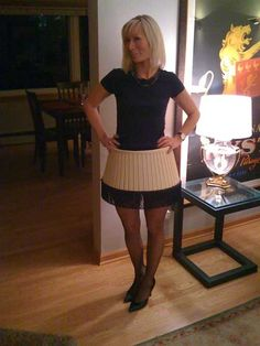 leg lamp costume | Christmas Story Leg Lamp Costume | Halloween Ideas