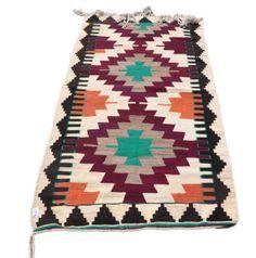 VINTAGE Turkish Kilim Rug Runner, Antique Kilim Runner, Decorative Runner Rug, Natural Wool 53'' X 88'' INCHES - 135 X 224 CM
