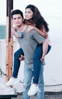Hold me till your arms give up. Matching Couples, Cute Couples, James Reid Wallpaper, Human Body Organs, Liza Soberano, Nadine Lustre, Best Boyfriend, Bae Goals, Iris