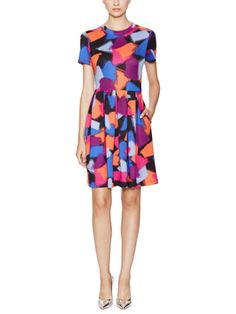 Neoprene Fit and Flare Dress from Alex + Alex on Gilt
