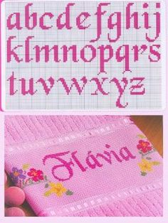 Thrilling Designing Your Own Cross Stitch Embroidery Patterns Ideas. Exhilarating Designing Your Own Cross Stitch Embroidery Patterns Ideas. Cross Stitch Alphabet Patterns, Cross Stitch Letters, Cross Stitch Boards, Cross Stitch Flowers, Cross Stitch Designs, Stitch Patterns, Embroidery Fonts, Embroidery Patterns, Cross Stitching