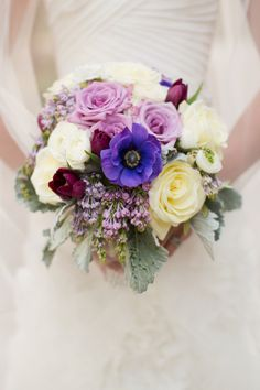 Cream Lavender and Plum Bouquet | photography by http://jessicalewisphoto.com/ | floral design by http://www.juniperfloraldesigns.com/ | event planning by http://www.sbeventcoordinators.com/