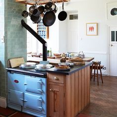 Kitchen | Period manor house in Somerset | House tour | PHOTO GALLERY | Country Homes and Interiors | Housetohome.co.uk