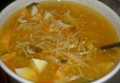 Mi abuela le enseñó a mi madre a hacer la auténtica y tradicional Sopa de Picadillo. Ella me dio la receta y ahora yo comparto contigo su secreto. Chicken Pasta Recipes, Pork Recipes, Veggie Recipes, Easy Healthy Recipes, Easy Dinner Recipes, Vegetarian Recipes, Easy Meals, Slow Cooker Soup, Slow Cooker Recipes