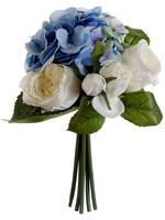 Bue White Hydrangea Silk Bouquet.JPG