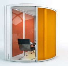 Change your office layout with our internal office pods. Our internal office pods offer a simple solution to changing an office layout or functionality Mini Office, Cool Office, Small Office, Office Ideas, Office Pods, Office Workstations, Office Meeting, One Design, Design Ideas