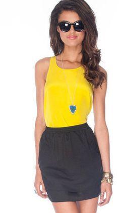 #Tobi                     #Skirt                    #Twice #Around #Skirt #Black #tobi                  Twice Around Skirt in Black :: tobi                                           http://www.seapai.com/product.aspx?PID=1188615