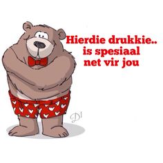 is spesiaal net vir jou Sweet Words, Love Words, Wisdom Quotes, Love Quotes, Messages For Friends, Afrikaans Quotes, Friends Image, Funny Cards, Scooby Doo