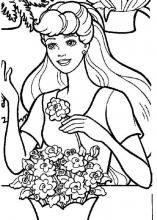 Barbie coloring pages on Coloring-Book.info