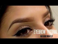 elf eyebrow kit tutorial. eyebrow tutorial using elf duo kit   mariannemmakeup ♡