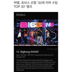 WEBSTA @ xxxibgdrgn - It's an honor @forbes and thanks for everything all the VIPs in the World✨🙏✨