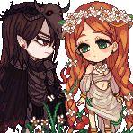 Hades and Persephone by ichigo-tan.deviantart.com on @deviantART