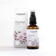 Tisserand 100% Natural Coconut Beauty Oil 50ml | www.tisserand.com