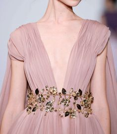 Detail at Dany Atrache Couture Spring 2016.
