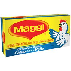 Best Maggi Chicken Bouillon Cube Recipe On Pinterest