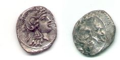 Cilica Obol, a small fractional silver unit weighting a mere 0.45 grams of silver, yet the art work is museum quality on such tiny dies, it is only 11 millimeter wide!  @300 BC.