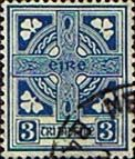 Postage Stamps of Eire Ireland 1922 SG 76 Celtic Cross Fine Used Scott 70 Stamps For Sale Take a Look